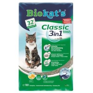 Наполнитель для кошачьего туалета Biokat's Classic 3-in-1