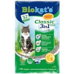 Наполнитель для кошачьего туалета Biokat's Classic Fresh 3-in-1