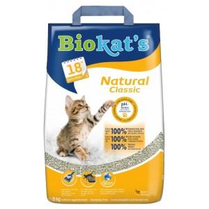 Наполнитель для кошачьего туалета Biokat's Natural