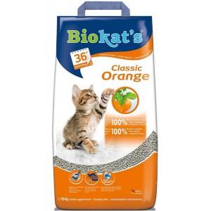 Наполнитель для кошачьего туалета Biokat's Orange