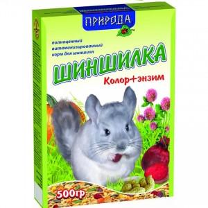 """Корм для шиншилл """"Шиншилка + Энзим"""" 500 гр"""