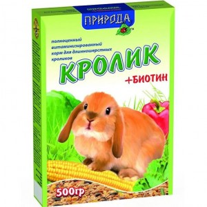 Природа Кролик + биотин 500 гр