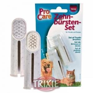 Уход за зубами для собак Trixie Toothbrush Set 2шт.