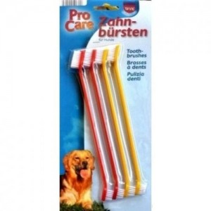 Зубная щетка для собак Trixie 4 шт