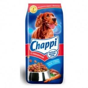 Chappi с птицей и говядиной 3кг