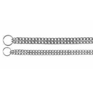 Двойная рывковая цепь-ошейник Trixie 50см