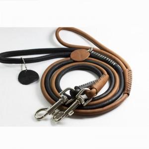 Collar Soft кожаный поводок 122см