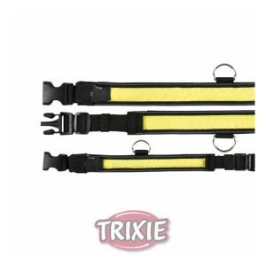 Trixie Safer Life Flash Светоотражающий ошейник 30-40см
