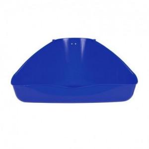 Угловой туалет для грызунов Trixie 37х21х30см синий