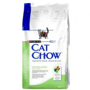 Cat Chow (Кэт Чау) Special Care Sterilized 15кг