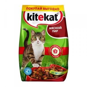 "Корм для кошек Kitеkat ""Мясной пир"" 2,4кг"