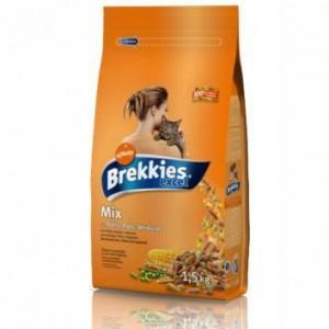 Brekkies (Брекис) Cat Excel Mix Chicken 20кг
