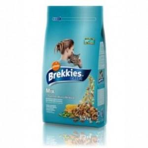 Brekkies (Брекис) Cat Excel Mix Fish 20кг