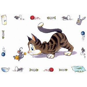 Trixie Comic Cat 44х28см