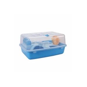 Клетка для хомяка AnimAll пластиковая, 41х30х21 см