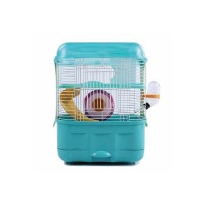 Клетка для хомяка AnimAll пластиковая, 32х24х35 см