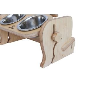 Миски для собак на подставке Monk