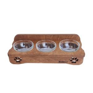 Миски для собак на подставке Tiger 3